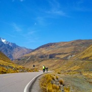 Riding bikes in the highlands of the sacred Valley