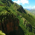 One of the adventure trip you can do Around Ollantaytambo