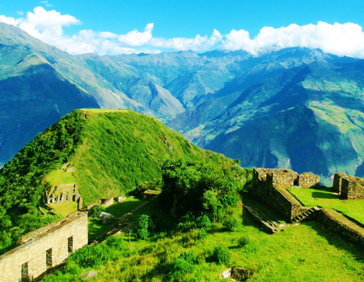 Choquequirao from the above
