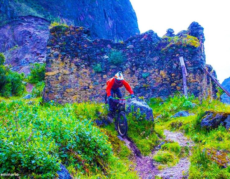 Inca avalanche trail